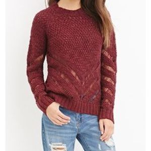 F21 Knit Sweater NWT